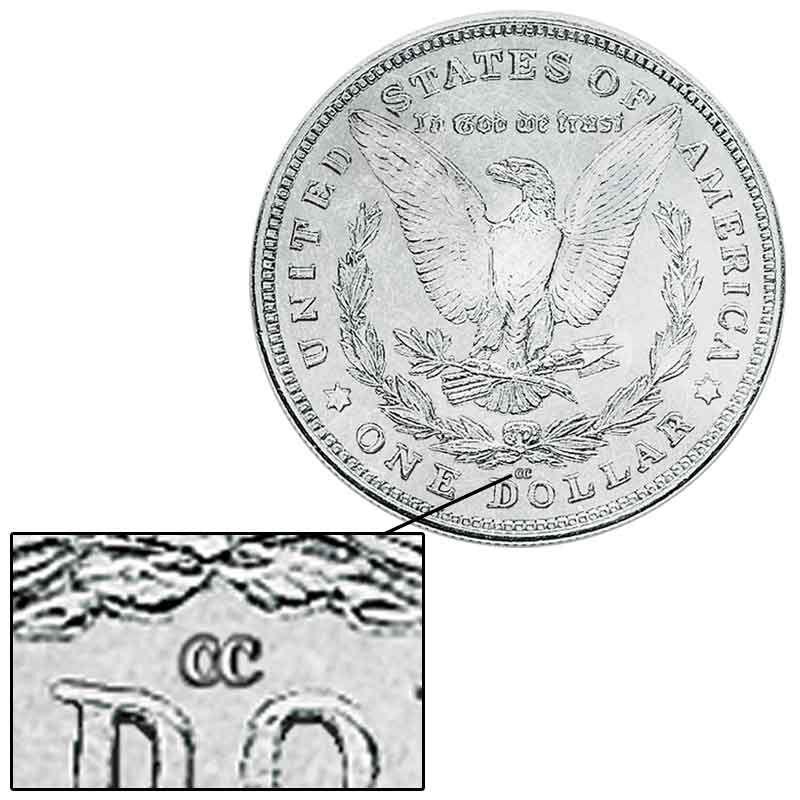 Three Decade Set of Carson City Mint Morgan Silver Dollars MCD 2