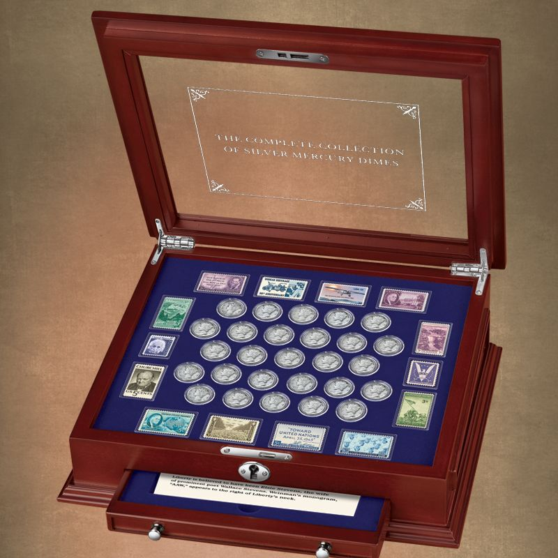 The Complete Collection of Silver Mercury Dimes MRC 4