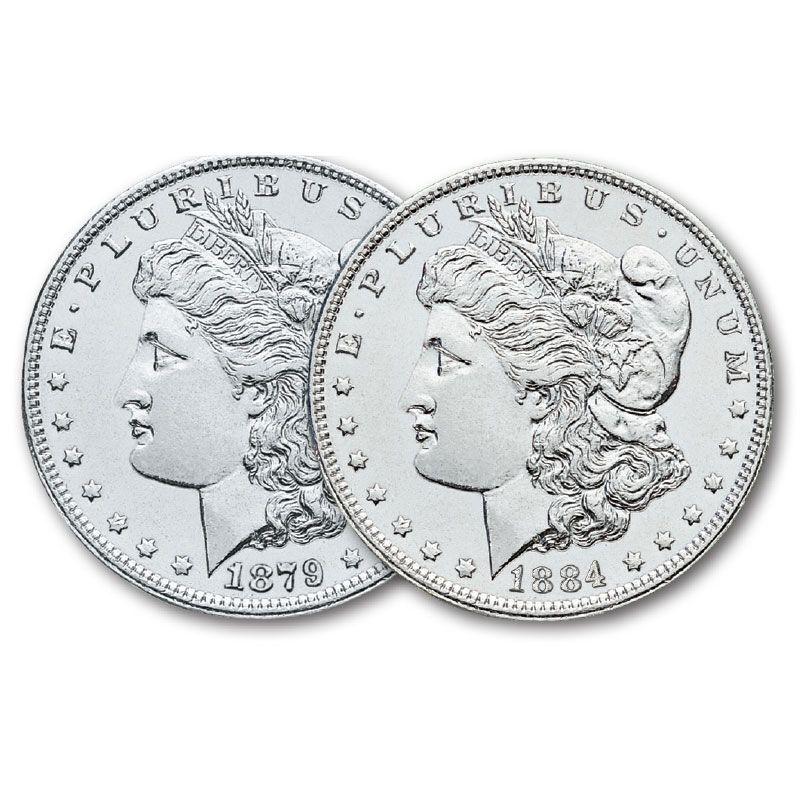 The Choice Uncirculated Morgan Silver Dollar Collection MCU 4