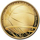 The Basketball Hall of Fame Proof Gold Coin GBE 1