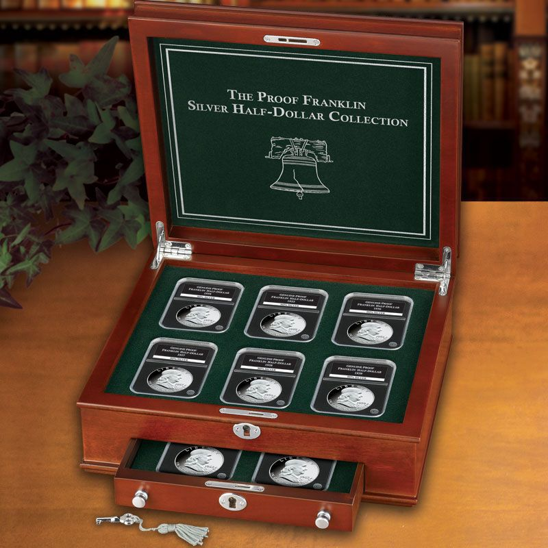 The Proof Franklin Silver Half Dollar Collection FRP 3