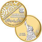 Platinum  Gold Highlighted Statehood Innovation Dollar Coins IPG 1