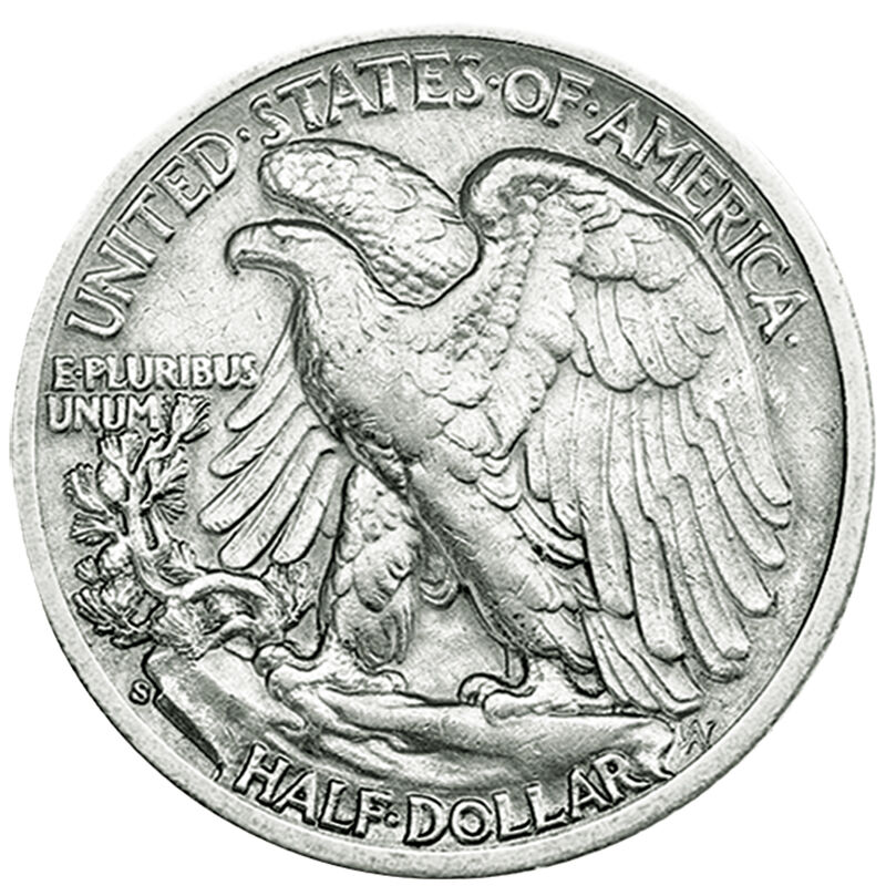 The Complete Walking Liberty Silver Half Dollar Collection WLS 2