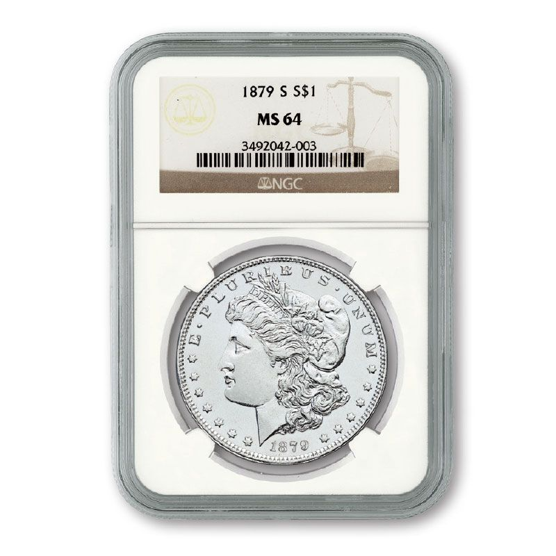 The Choice Uncirculated Morgan Silver Dollar Collection MCU 1