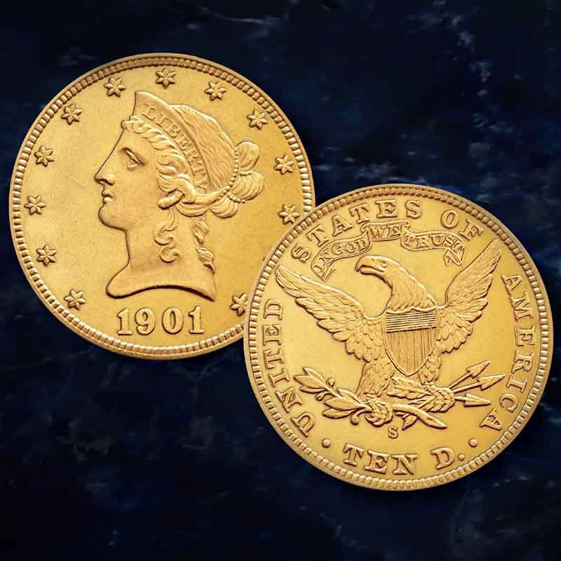 The San Francisco Mint US Gold Coin Collection GSO 3