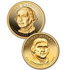 The US Presidential Dollar Coin Collection PPS 1