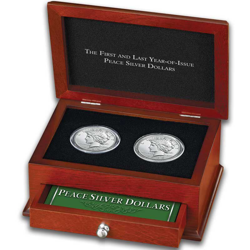 The First and Last Year of Issue Peace Silver Dollars PFL 3