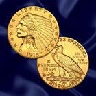 The US Indian Head Gold Coin Collection GHI 6
