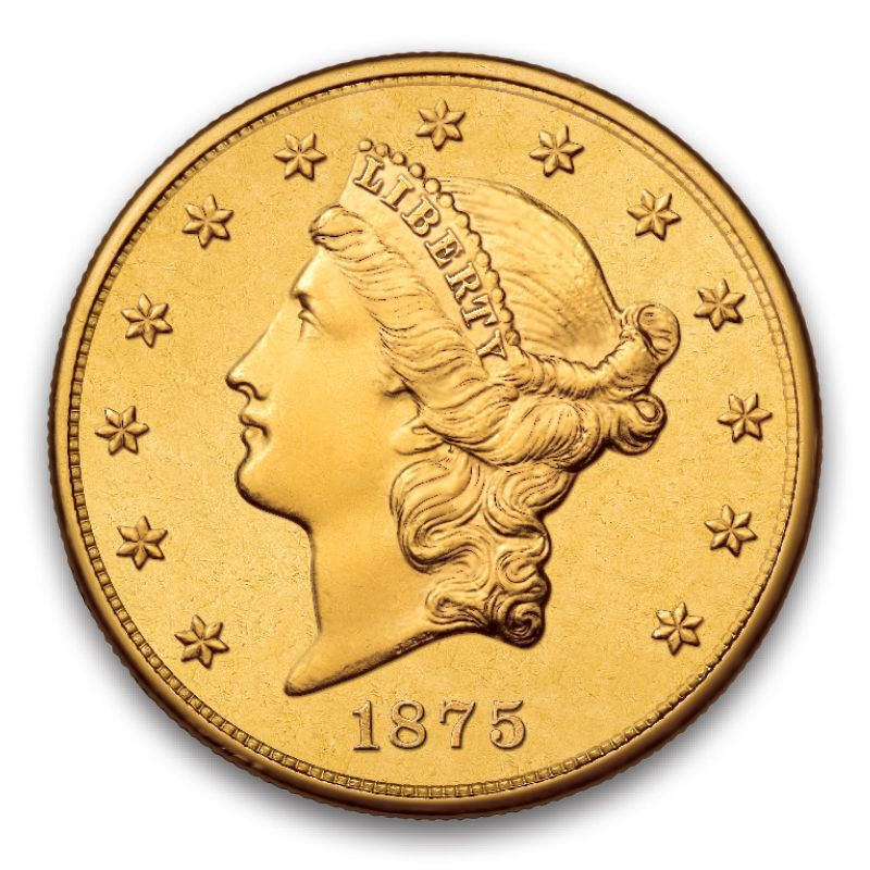 The Only Carson City Mint 20 Gold Coin C20 1