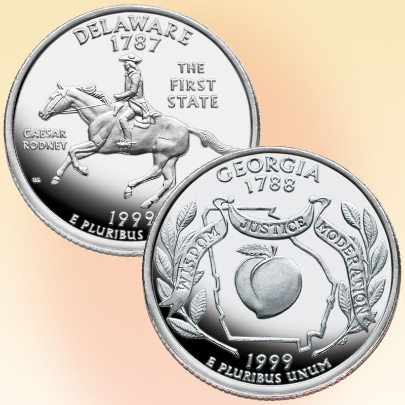 The 50 State Proof Quarters Collection STB 2