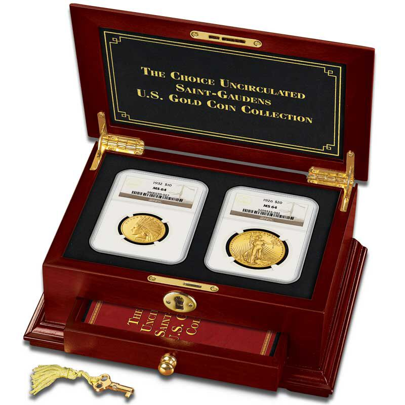 The Choice Uncirculated Saint Gaudens US Gold Coin Collection GCU 4