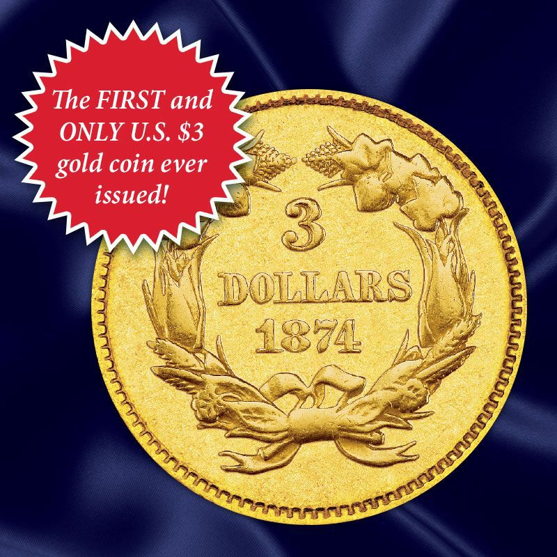 The US Indian Head Gold Coin Collection GHI 1
