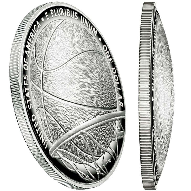 americas first enhanced uncirculated curved coin BEP b Edge