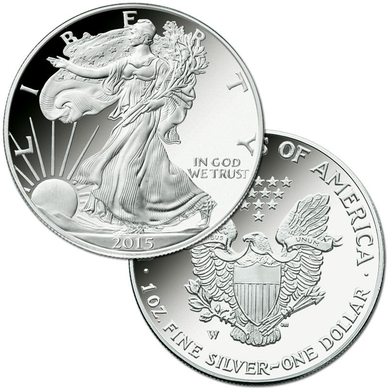 The Complete Set of American Eagle Silver Dollars SET 5