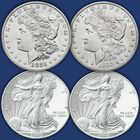 The US Silver Dollar Century Collection SCN 1