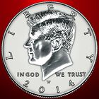 The John F Kennedy Silver Half Dollars Anniversary Edition KSC 1