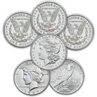 complete uncirculated 1921 us silver dollars MAL a Main