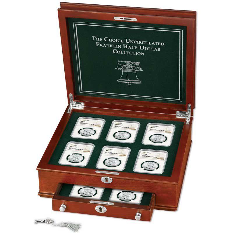 The Choice Uncirculated Franklin Half Dollar Collection BCU 4