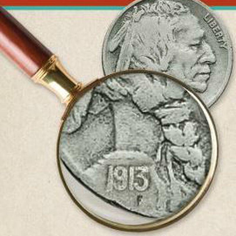 US Buffalo Nickels Collector Panels BN2 3