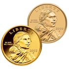 The Complete Sacagawea Golden Dollar Coin Collection 20th Anniversary Edition NPU 1
