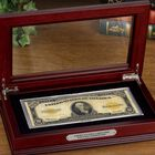 Americas Only Large Size 10 Gold Certificate LGC 3