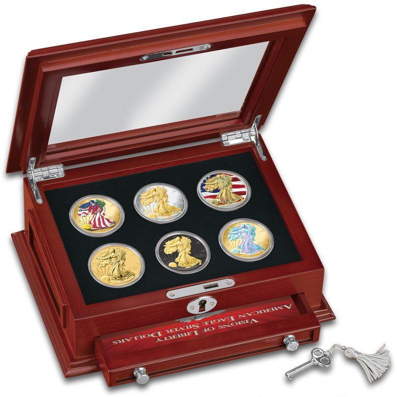 Visions of Liberty American Eagle Silver Dollars SE6 2