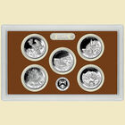 The Complete US National Parks State Quarters Proof Set Collection ABP 1