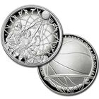 The 2020 Basketball Hall of Fame Proof Silver Dollar BEI 1