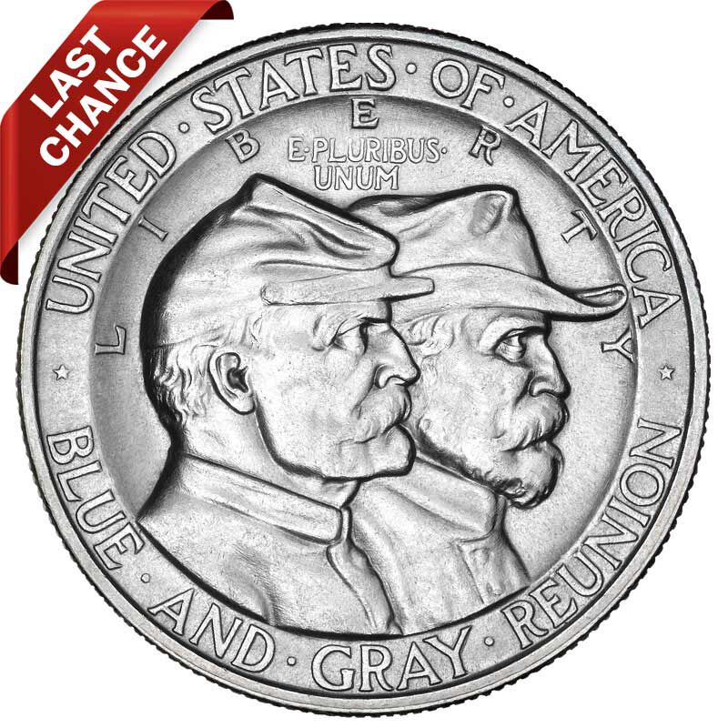 The Battle Of Gettysburg Silver Commemorative Coin GSH 1