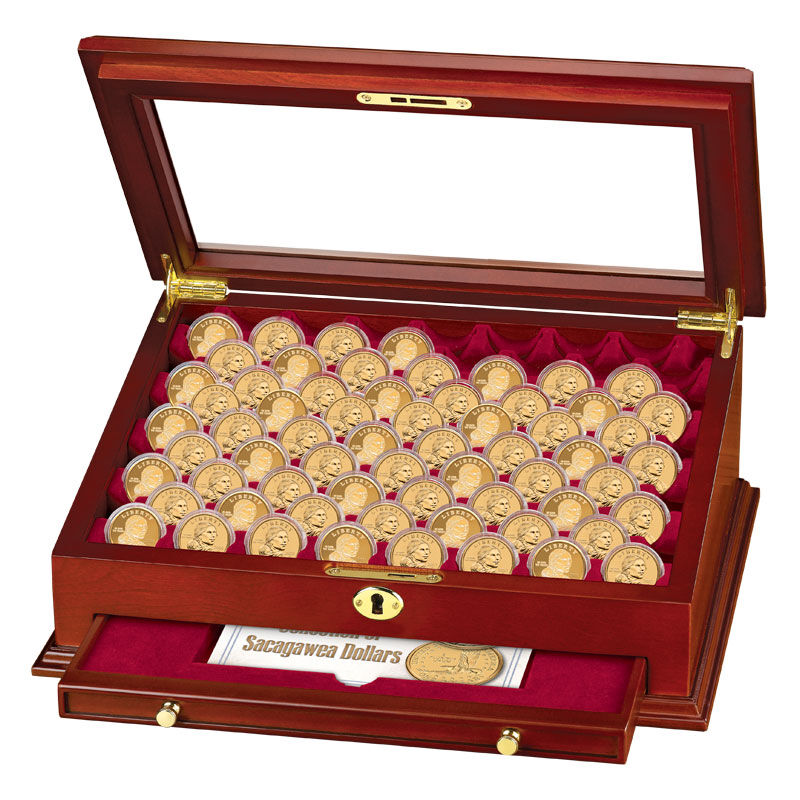 The Complete Collection of Sacagawea Dollars PNA 2