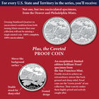 The Complete Collection of US Statehood Quarters Anniversary Edition SQA 2