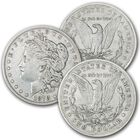 The 1878 Morgan Silver Dollar Tail Fether Set TFC 1