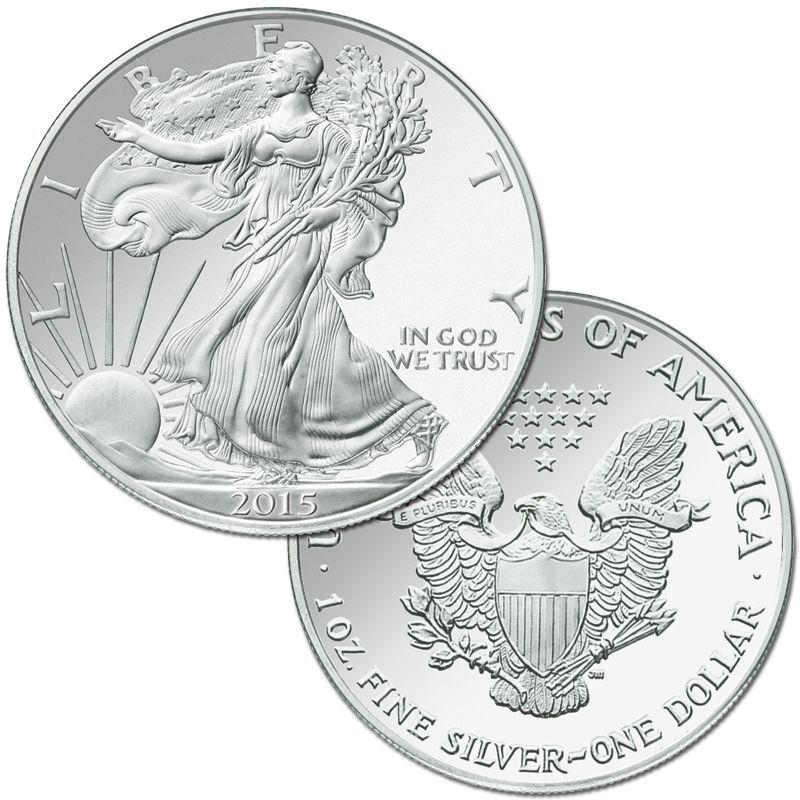 The Complete Set of American Eagle Silver Dollars SET 6