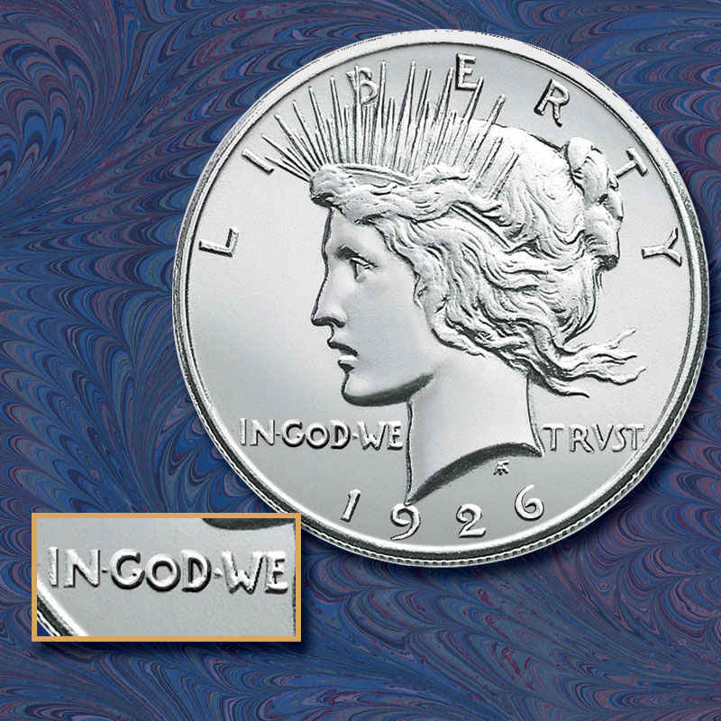 The Complete Uncirculated Peace Silver Dollar Collection SPC 3