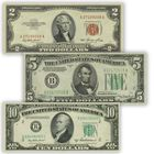 Uncirculated Historic US Currency UCC 2