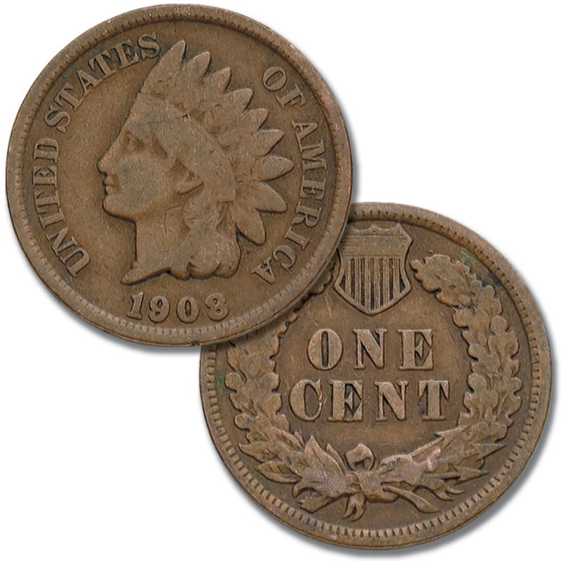 Two Centuries of US One Cent Coins TCP 2