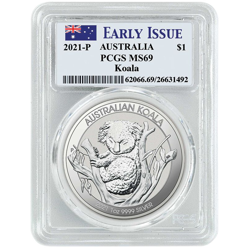 2021 early issue australian silver dollar set A21 c Holder