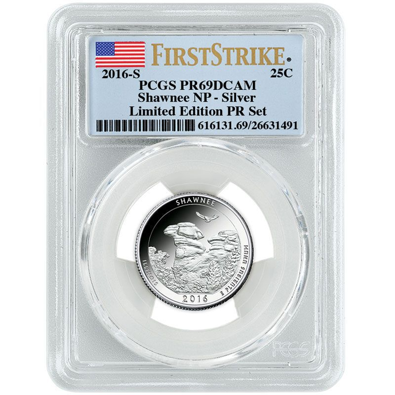 The 2016 Limited Edition Silver Proof Coins SL6 7
