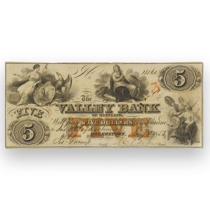 19th Century Obsolete Currency OCB 3