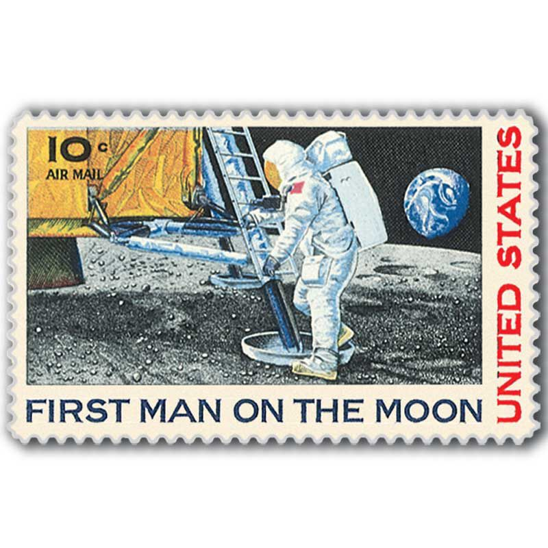 The Moon Landing International Stamp Collection SML 3