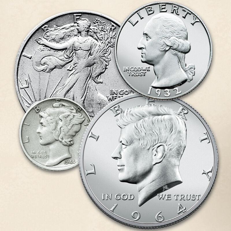 Four Centuries of Americas Silver Coins FR2 3
