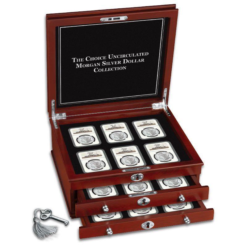 The Choice Uncirculated Morgan Silver Dollar Collection MCU 3