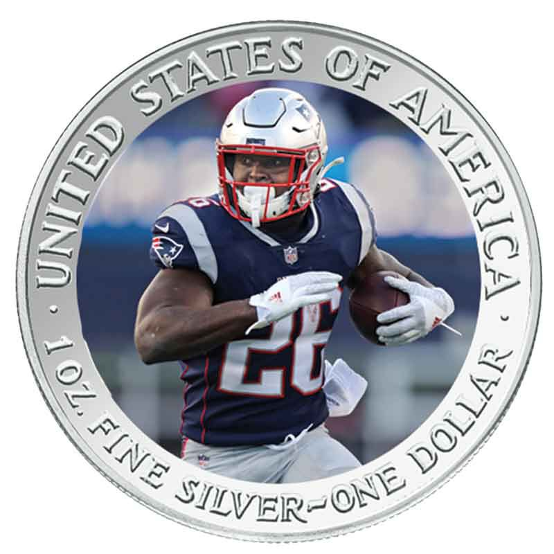 The New England Patriots Super Bowl LIII Champions Commemorative Coin Collection B19 5
