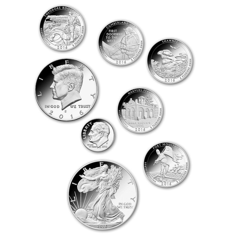 The 2016 Limited Edition Silver Proof Coins SL6 1