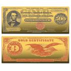 The Greatest US Currency 24kt Gold Note Collection CRG 2
