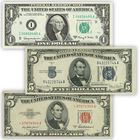 Uncirculated Historic US Currency UCC 3