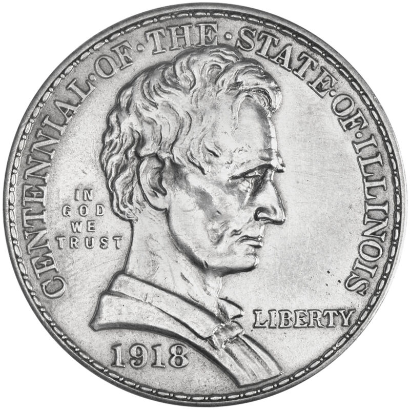 only lincoln silver half dollar CHL a Main