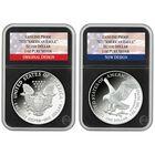 american eagle silver dollar change design collection EBP c Slabs