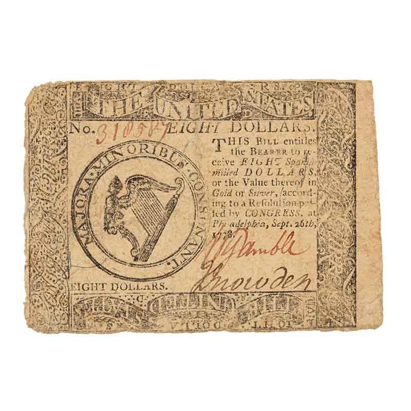 Americas Earliest Paper Currency CNT 4