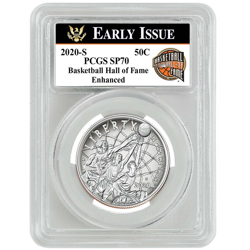 americas first enhanced uncirculated curved coin BEP c Label